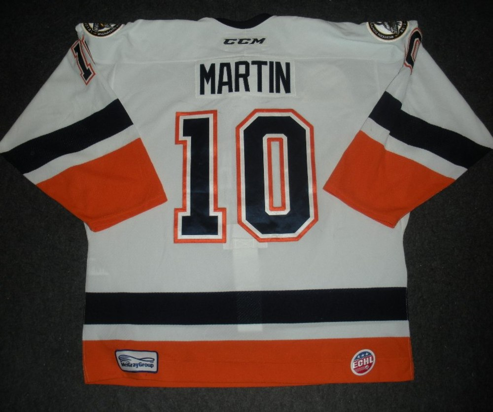 Joey Martin - Hockey Heritage Weekend - Stockton Thunder - Game-Worn Jersey