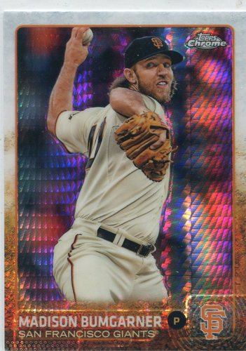 Photo of 2015 Topps Chrome Refractors #26 Madison Bumgarner
