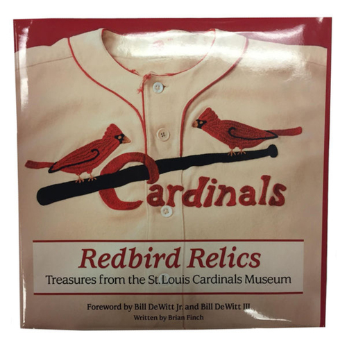 Photo of Cardinals Authentics: St. Louis Cardinals Redbird Relics: Treasures from the St. Louis Cardinals Museum Book