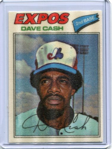 Photo of 1977 Topps Cloth Stickers #12 Dave Cash