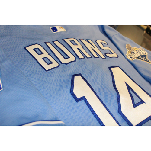 Photo of Billy Burns Game-Used Jersey (9/19/16 CWS at KC) (Size 44)