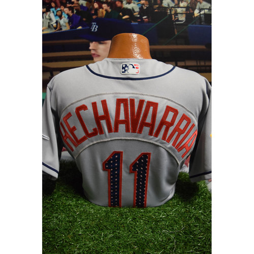 Photo of 2017 Team-Issued July 4th Jersey: Adeiny Hechavarria