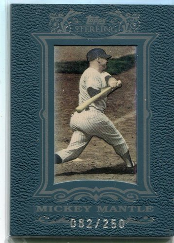 Photo of 2007 Topps Sterling #16 Mickey Mantle