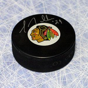 Greg Millen Chicago Blackhawks Autographed Hockey Puck