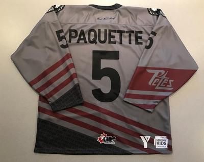 Jacob Paquette (#5) - '93 Petes Alumni Jersey