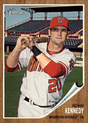 Photo of 2011 Topps Heritage #27 Adam Kennedy