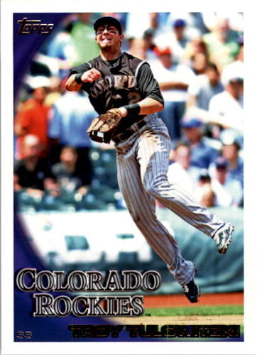 Photo of 2010 Topps #389 Troy Tulowitzki
