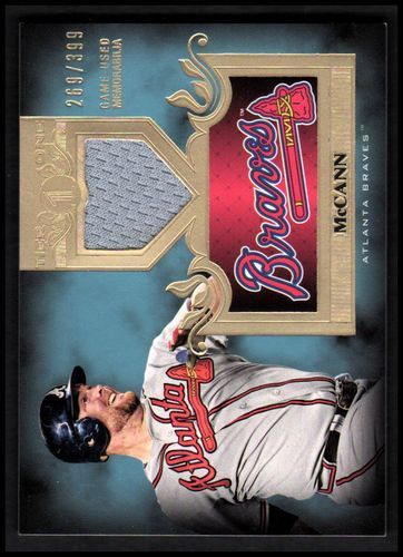 Photo of 2011 Topps Tier One Top Shelf Relics #TSR41 Brian McCann
