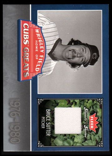 Photo of 2006 Greats of the Game Cubs Greats Memorabilia #BS Bruce Sutter Pants