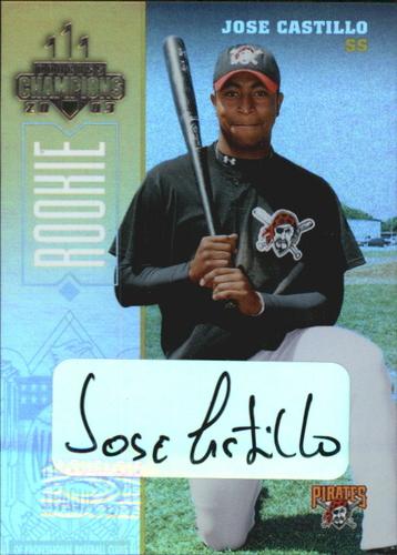 Photo of 2003 Donruss Champions Autographs #209 Jose Castillo/400