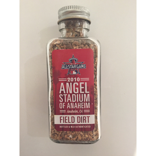 Photo of 2010 All-Star Game-Used Dirt Jar - Angel Stadium