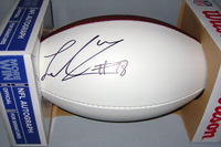 NFL - VIKINGS LINVAL JOSEPH SIGNED PANEL BALL