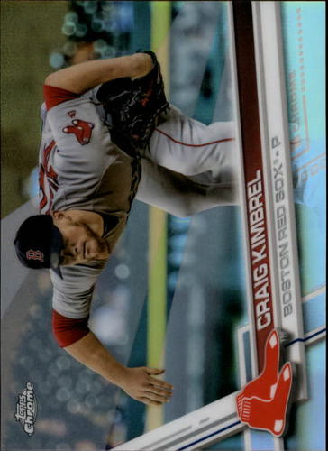Photo of 2017 Topps Chrome Refractors #188 Craig Kimbrel