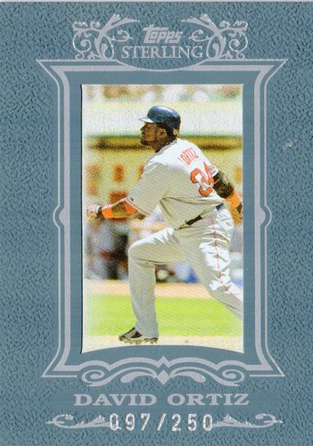 Photo of 2007 Topps Sterling #159 David Ortiz