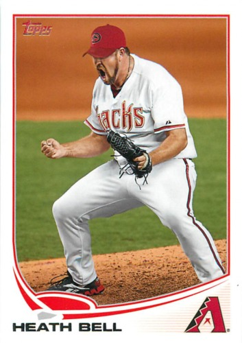Photo of 2013 Topps #221 Heath Bell