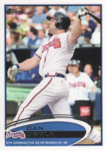Photo of 2012 Topps #579 Dan Uggla RB