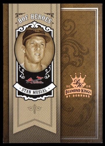 Photo of 2005 Diamond Kings HOF Heroes Bronze #46 Stan Musial