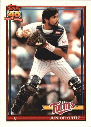 Photo of 1991 Topps Tiffany #72 Junior Ortiz