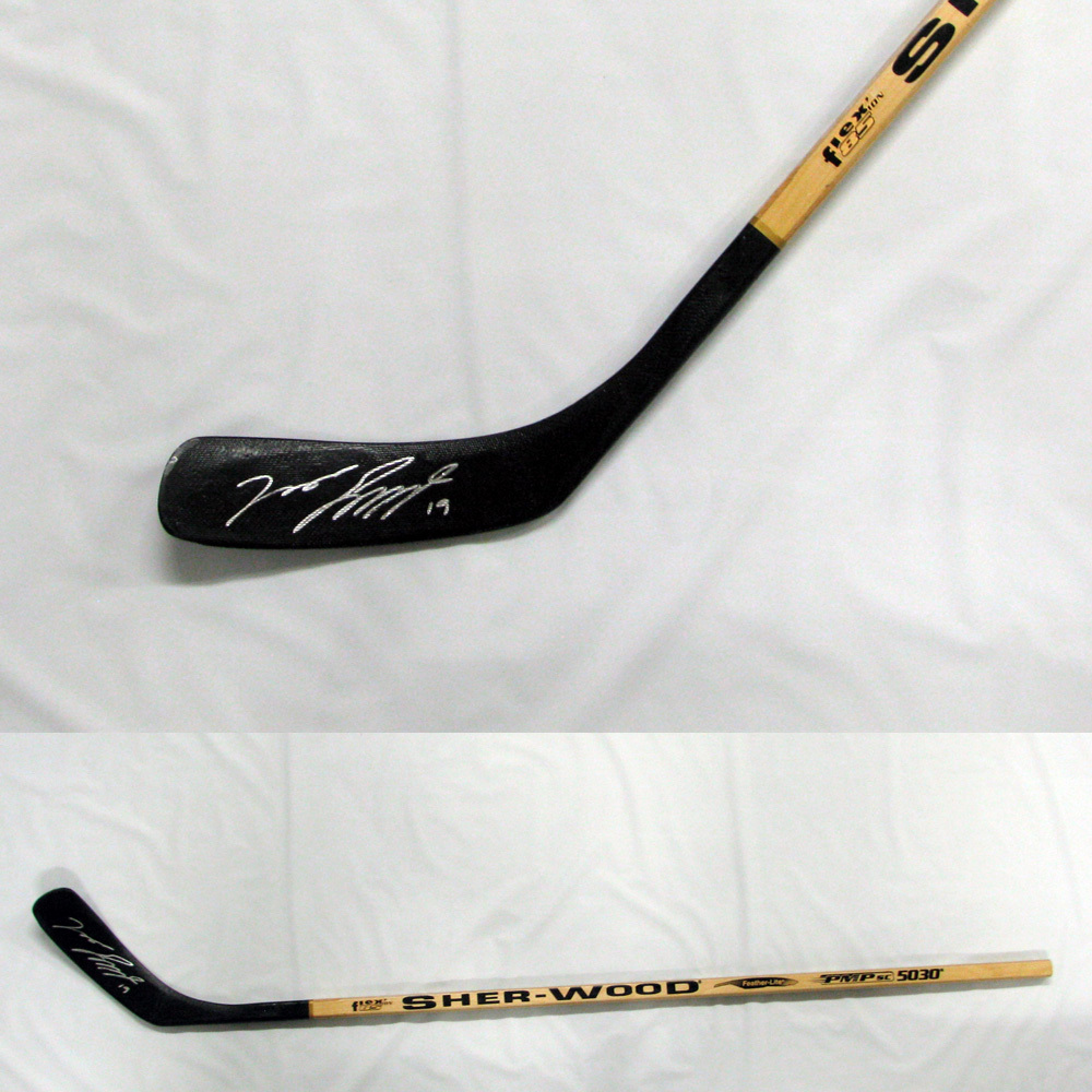 JASON SPEZZA Signed SHER-WOOD Stick - Dallas Stars