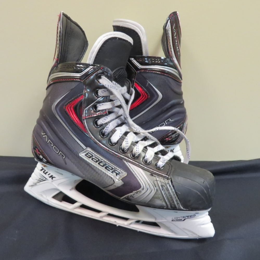 T.J. Oshie autographed game-used skates