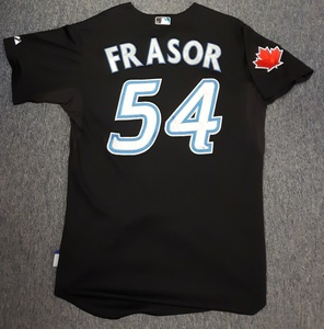 Toronto Blue Jays Authenticated Game Used 2011 Jersey - #54 Jason Frasor