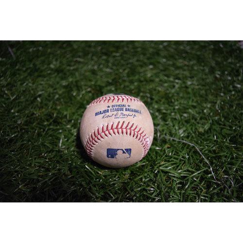 Photo of Game-Used Baseball: Adam Jones Single off Chris Archer