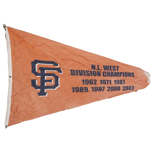 San Francisco Giants - Stadium Flag - National League West Division Champions