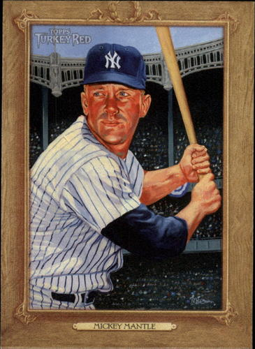 Photo of 2007 Topps Turkey Red #167 Mickey Mantle