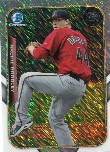 Photo of 2015 Bowman Chrome Farm's Finest Minis #FFMAB Archie Bradley -- D'backs post-season