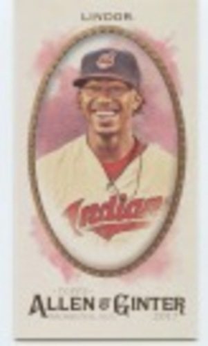 Photo of 2017 Topps Allen and Ginter Mini #200 Francisco Lindor