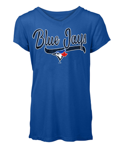 Toronto Blue Jays Youth Jersey T-shirt by New Era