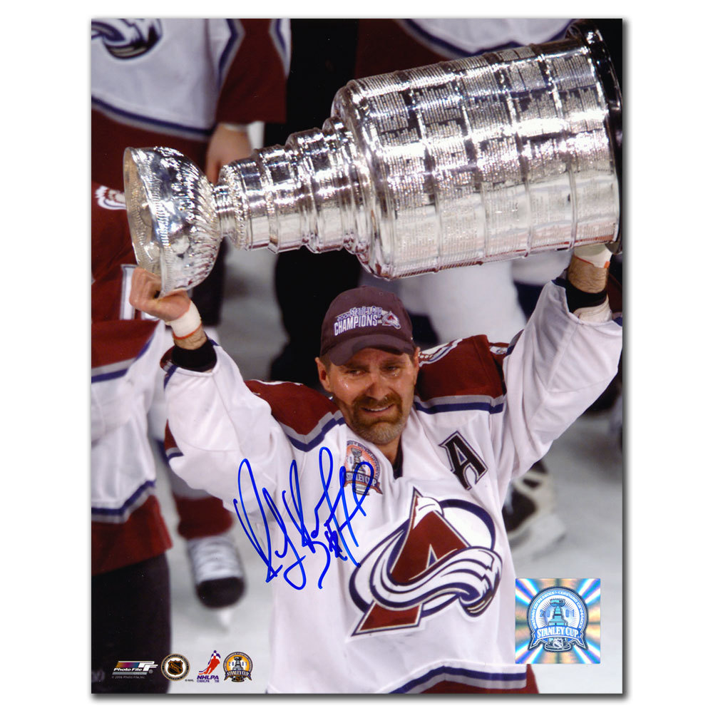 Ray Bourque Colorado Avalanche 2007 Stanley Cup Autographed 8x10