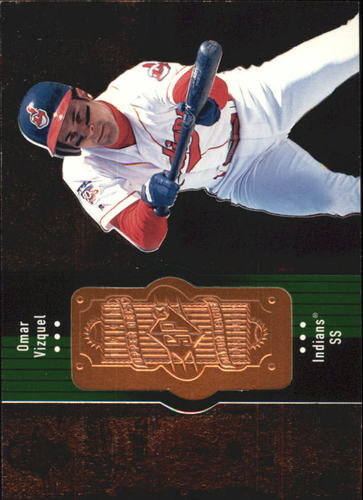 Photo of 1998 SPx Finite #76 Omar Vizquel