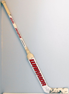#35 Cory Schneider Game Used Stick - Autographed - New Jersey Devils