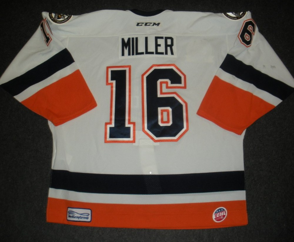 Greg Miller - Hockey Heritage Weekend - Stockton Thunder - Game-Worn Jersey