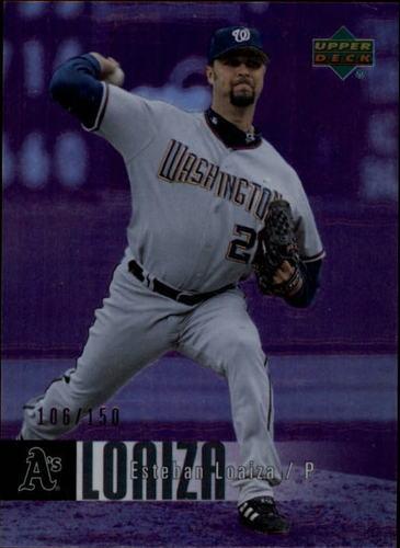 Photo of 2006 Upper Deck Special F/X Purple #489 Esteban Loaiza /150