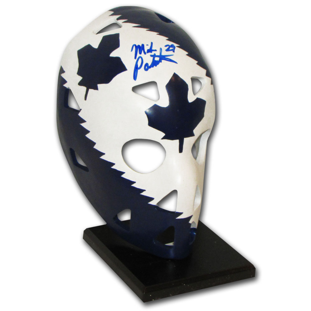 Mike Palmateer Autographed Toronto Maple Leafs Full-Size Replica Goalie Mask