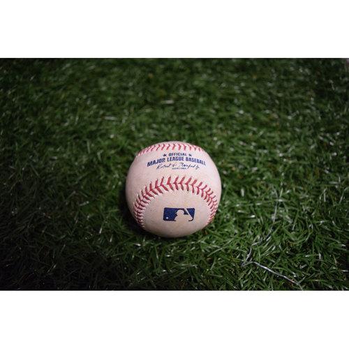 Photo of Game-Used Baseball: Jake Odorizzi Strikes Out Manny Machado
