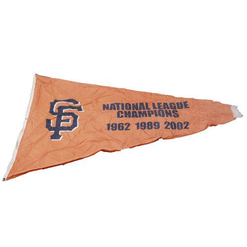 Photo of San Francisco Giants - Stadium Flag - National League Champions