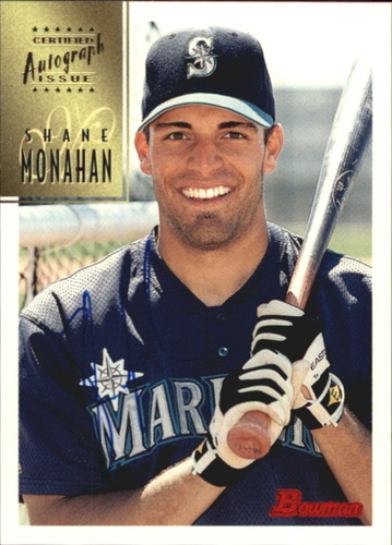 Photo of 1997 Bowman Certified Blue Ink Autographs #CA54 Shane Monahan