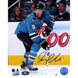 Joe Pavelski Signed San Jose Sharks PLAYMAKER 8x10 Photo + FREE GIFT!