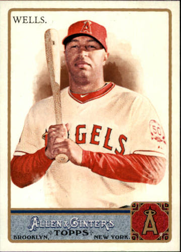 Photo of 2011 Topps Allen and Ginter #141 Vernon Wells