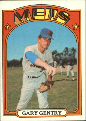Photo of 1972 Topps #105 Gary Gentry
