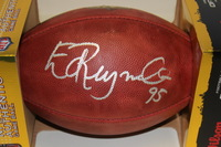 NFL - GIANTS ED REYNOLDS SIGNED AUTHENTIC FOOTBALL