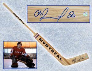Vladislav Tretiak CCCP-Russia Autographed Wooden Montreal Brand Goalie Stick