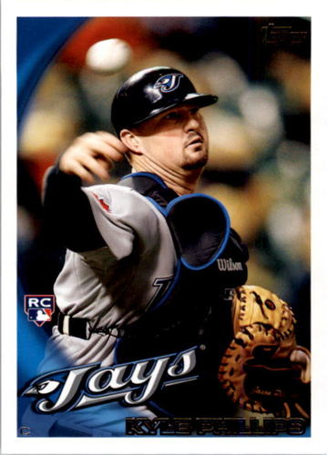 Photo of 2010 Topps #66 Kyle Phillips RC
