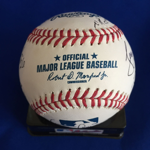 Photo of UMPS CARE AUCTION: 2017 Crew Chiefs Signed Baseball