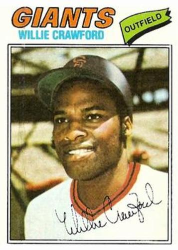 Photo of 1977 Topps #642 Willie Crawford