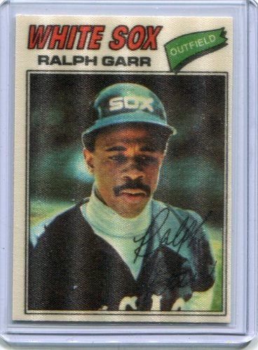 Photo of 1977 Topps Cloth Stickers #18 Ralph Garr