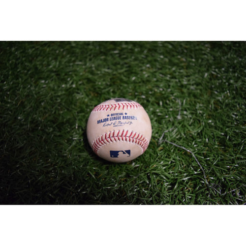 Photo of Game-Used Baseball: Chris Archer Strikes Out Manny Machado